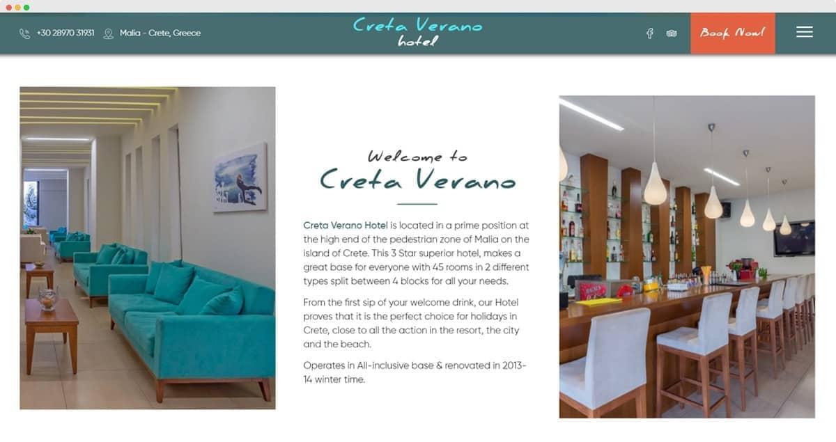 Creta Verano Hotel, Malia Crete