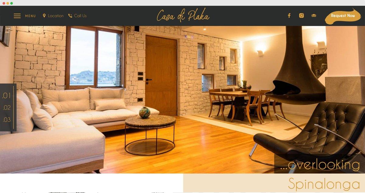 Villa Casa di Plaka Website